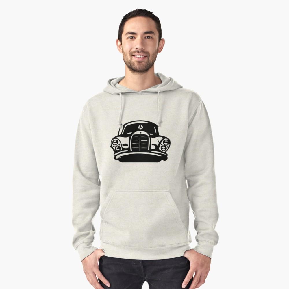 Black MBZ Car Artwork Hoodie
